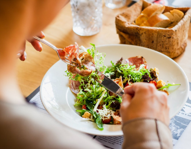 how to eat more and weigh less